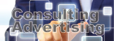 Consulting、Advertisingのイメージ