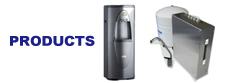 世界水準の逆浸透膜(RO)純水装置のイメージ